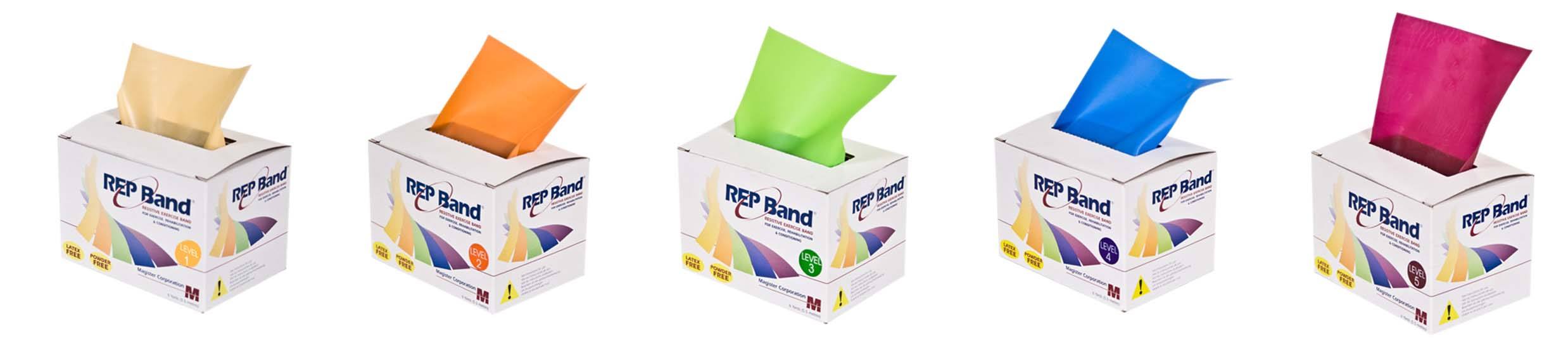 Rep Band 1 2 3 4 5 Banner